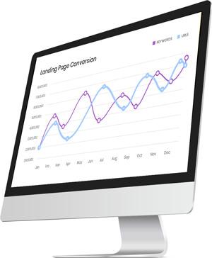 Suchmaschinenoptimierung Conversion-Graph