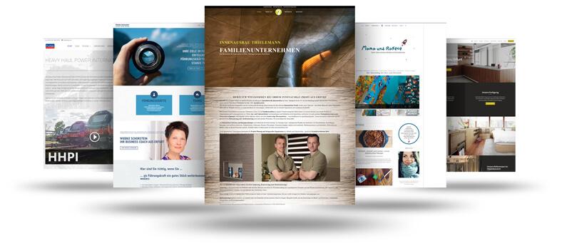 professionelle Website erstellen lassen - Webdesign