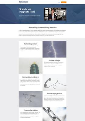 Webdesign Referenz - Teamentwicklung Schorstein